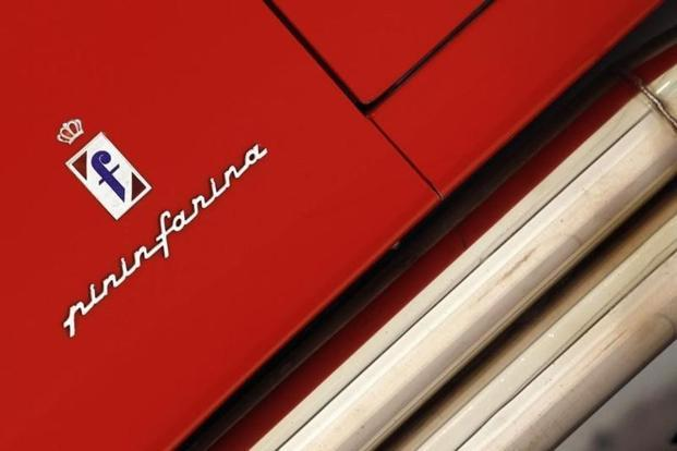A Pininfarina logo. Pininfarina Group CEO said the company is now more competitive because it has access to a wider range of world-class skills at lower costs. Photo: Reuters