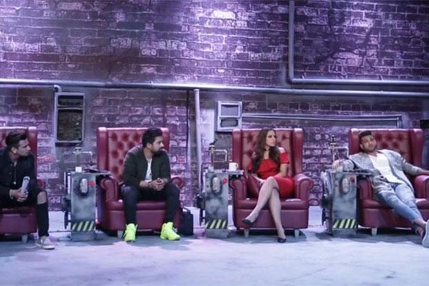 "Harbhajan Singh is the latest judge on the show. The other ""gang leaders"" are Karan Kundra, Rannvijay, Neha Dhupia and Prince."
