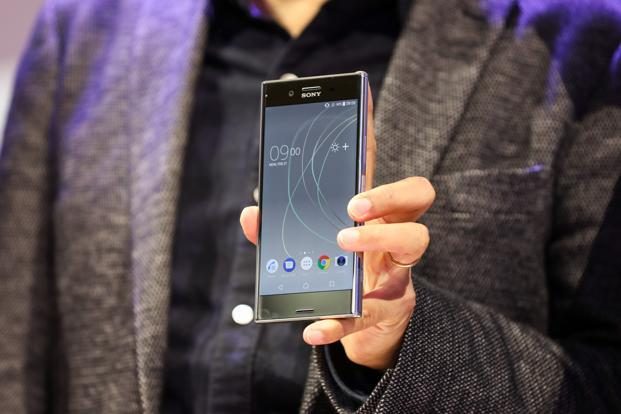Sony Xperia XZ Premium, which was unveiled at the Mobile World Congress (MWC 2017) in Barcelona, is expected to be priced at Rs60,000 and thus will compete with the Google Pixel XL and Apple iPhone 7 Plus. Photo: Bloomberg