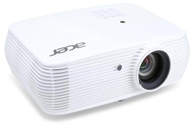Acer A1500 projector's design is quite simple and the rounded edges accentuate the compactness.