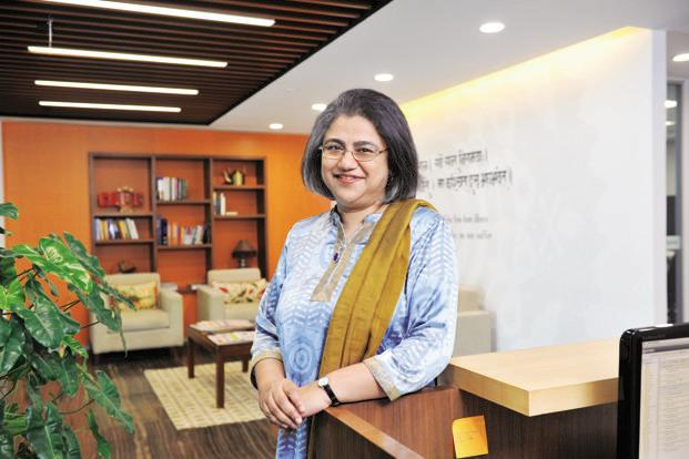 Roopa Kudva, managing director, India, Omidyar Network. Photo: S Kumar/Mint