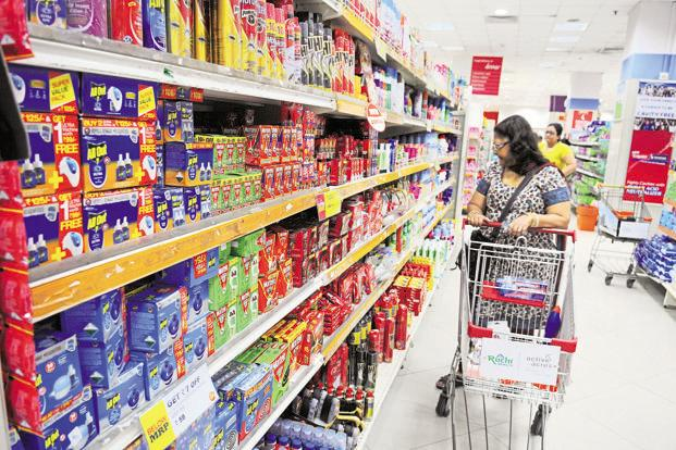 The tax rates for the consumer packaged goods industry under GST are likely to be similar to the existing tax incidence. Photo: Indranil Bhoumik/Mint