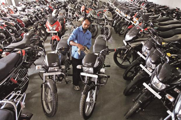 Hero MotoCorp, which sells one in every two two-wheelers sold in the country, is  said to have an inventory of BS-III models for two months. Photo: Reuters