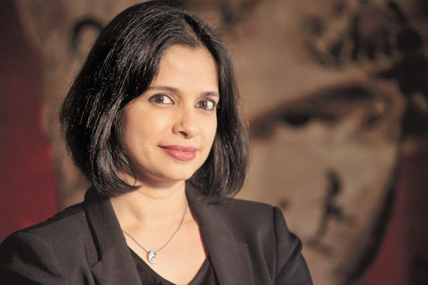 Eros International Group CEO Jyoti Deshpande. Eros has a 30% share of the Bollywood box-office collections.