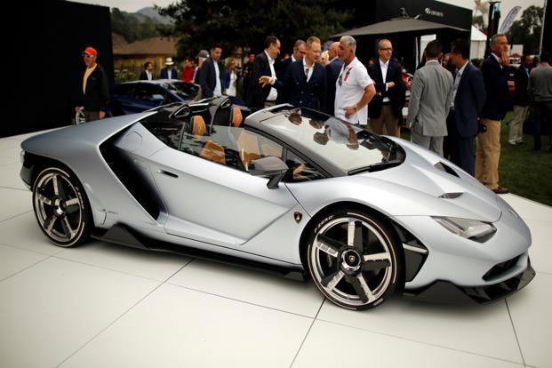 Lamborghini Sees Indian Market Entering The Growth Track Livemint