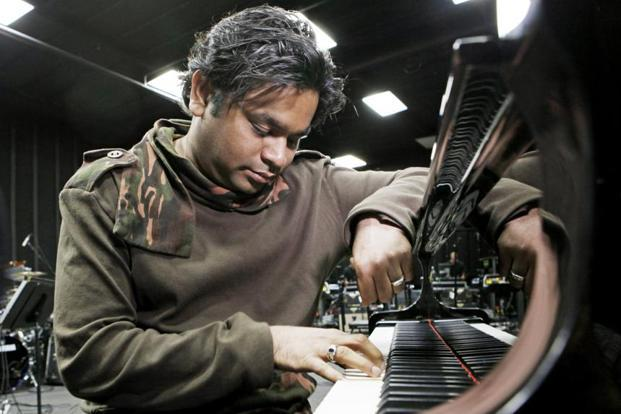 A. R. Rahman says music is an art,  at least for him and his  family. Photo: AP