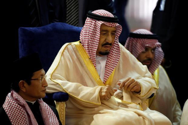 King Salman's tour of Asia aims to build the kingdom's ties with fast-growing Asian economies and drum up investment to diversify the Saudi economy away from dependence on oil. Photo: Reuters