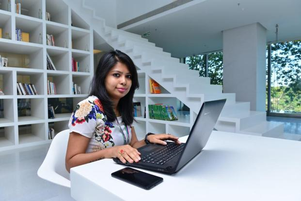 Juhi Mitra at her Godrej office in Mumbai. Photo: Aniruddha Chowdhury/Mint