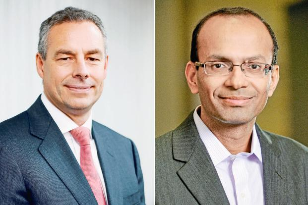 Ralf Dreischmeier (left), global leader of technology advantage practice, BCG; and Rajiv Gupta, partner and head of technology advantage practice, BCG India.