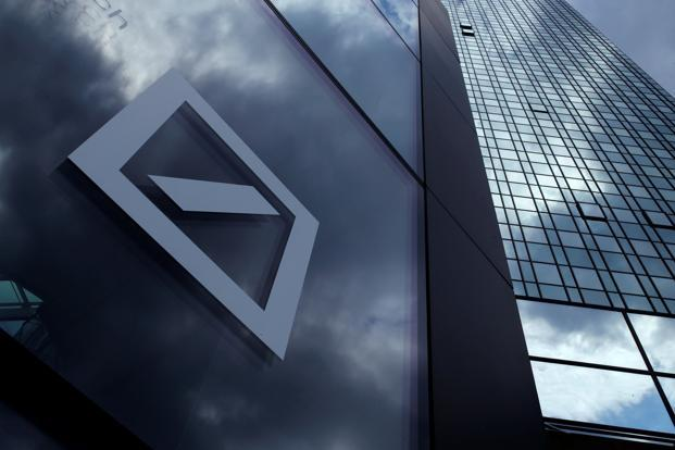 Doubts about Deutsche Bank's financial strength intensified after the US Justice Department in September demanded $14 billion to end an inquiry into mortgage securities that fueled the 2008 financial crisis. Photo: Reuters