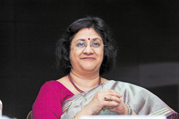 The recent SBI ad featuring chairman Arundhati Bhattacharya was a rare instance where the bank chief, and not a celebrity, was the brand ambassador. Photo: S. Kumar/Mint