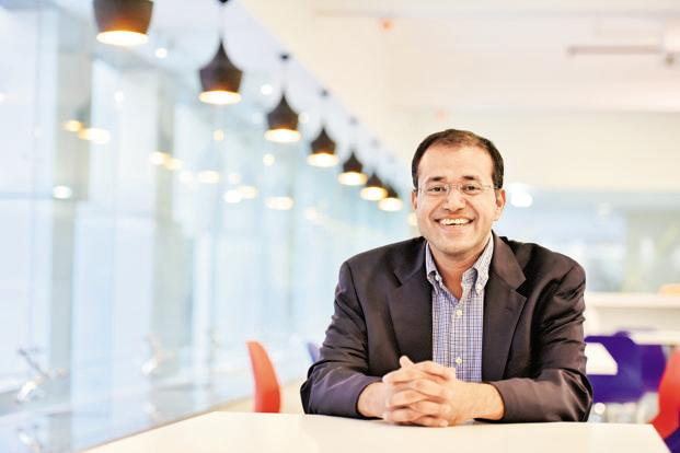 Uber India president Amit Jain. The ride sharing firm is banking on the P2P service to increase supply of cabs over the long-term. Photo: HT