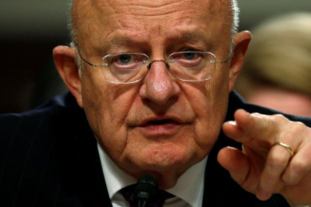 Former director of US National Intelligence James Clapper. Photo: Reuters