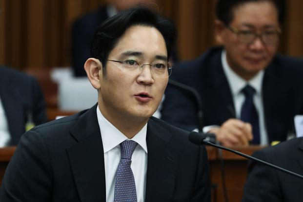 Samsung chief Jay Y. Lee has been in detention since his arrest last month. Photo: Bloomberg