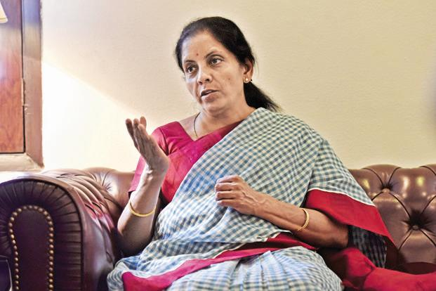 Commerce minister Nirmala Sitharaman has said that e-commerce should not be part of the agenda at the 11th WTO ministerial. Photo: HT
