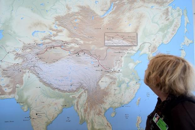 Under the Silk Road initiative, China wants to improve its connectivity with the rest of the world with a maze of roads and ports to trade its goods and services. Photo: AFP