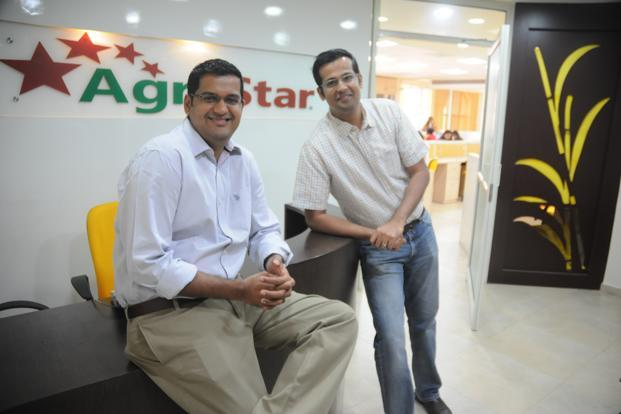 Agriculture technology start-up AgroStar was founded by Shardul Sheth and Sitanshu Sheth in 2012. Photo: Mint