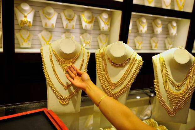 Spot gold prices may break a support at $1,223 per ounce and fall more to the next support at $1,213, probably after a moderate bounce to a resistance at $1,230. Photo: Priyanka Parashar/ Mint