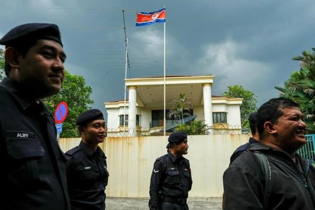 A file photo of the North Korean embassy in Kuala Lumpur. Najib Razak said he instructed police to prevent all North Koreans from leaving Malaysia until the safety of his citizens is guaranteed. Photo: Reuters