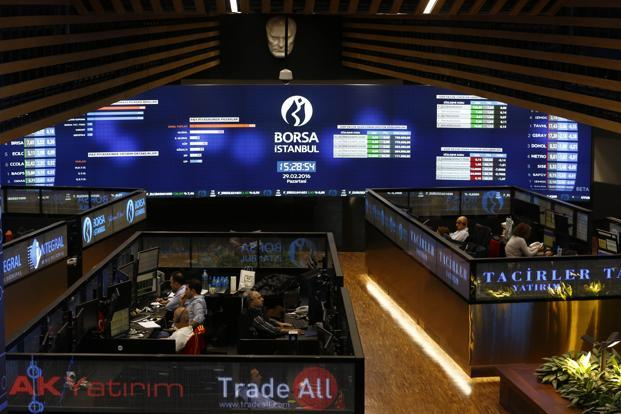 The Borsa Istanbul 100 Index has surged 15% this year to be among the world's five best-performing benchmarks in local-currency terms. Photo: Reuters