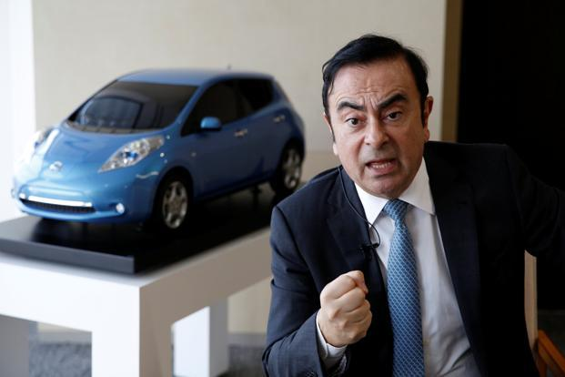 Carlos Ghosn is stepping aside as Nissan Motor CEO to focus on the Renault-Nissan alliance's Mitsubishi acquisition. Photo: Reuters