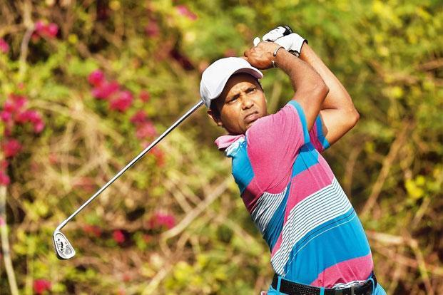 S.S.P Chawrasia at the Hero Indian Open in March 2016. Photo: Stuart Franklin/Getty Image