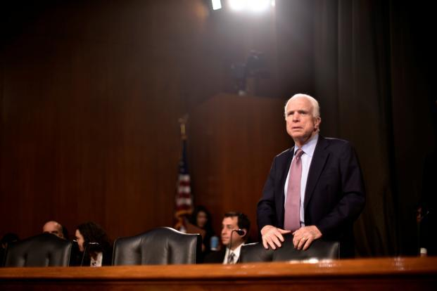 Republican Senator John McCain, chairman of the Senate Armed Services Committee, said of WikiLeaks, 'If they can hack into the CIA they can hack into anyone.' Photo: Reuters
