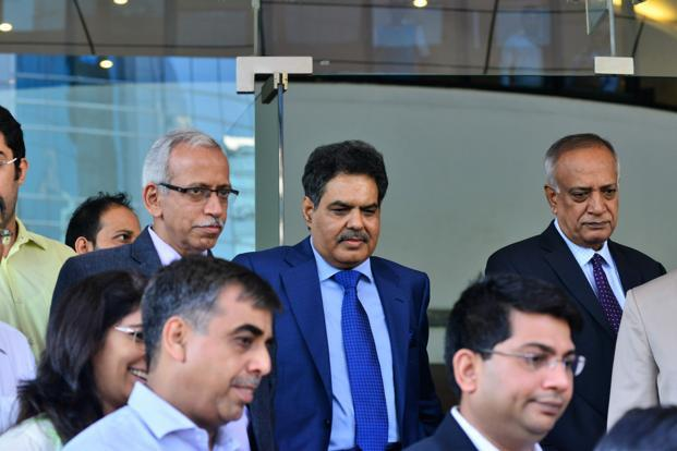 To be effective, Sebi chairman Ajay Tyagi (centre) must ensure the regulator picks battles that are necessary and important as it now dabbles in several new segments such as commodity derivatives. Photo: Aniruddha Chowdhury/Mint