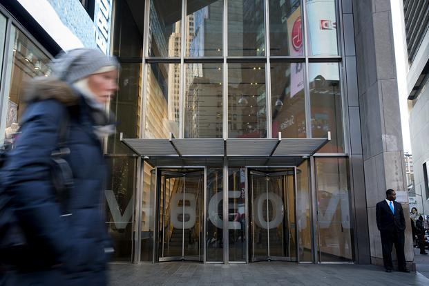 Viacom has been looking for new leaders to repair a studio coming off a disastrous year in which it lost money and finished last among its peers in box office market share. Photo: Bloomberg