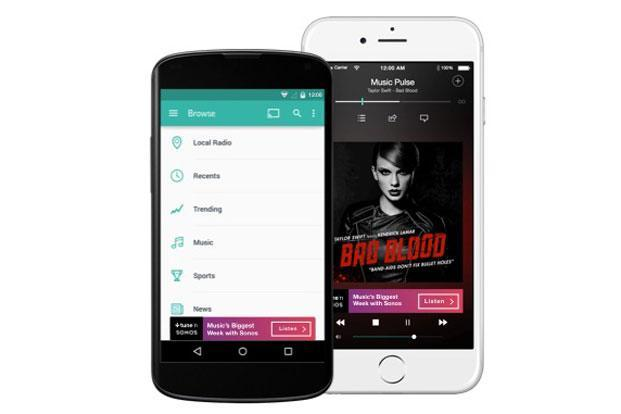 TuneIn Radio Pro is slightly upgraded version of popular radio app TuneIn.