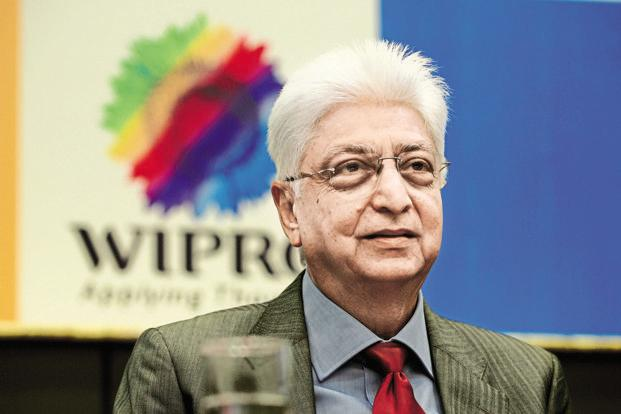 A file photo of Wipro chairman Azim Premji.  For Wipro, the US contributes over 55% to its revenues.  Photo: Hemant Mishra/Mint