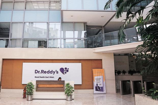 Dr. Reddy's Laboratories Ltd shares closed down 5.1% at Rs2,708.60 while the benchmark index, Sensex, closed up 0.09%. Photo: Mint