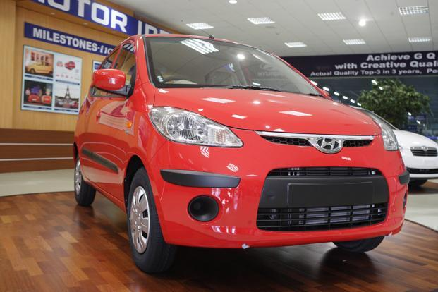 Hyundai has sold a total of 16.95 lakh units of i10 in domestic as well as global markets. Photo: Mint