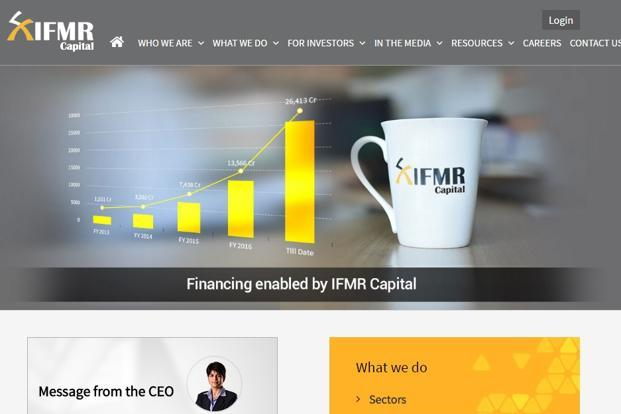 IFMR Capital has raised over Rs40,000 crore for its clients to date.