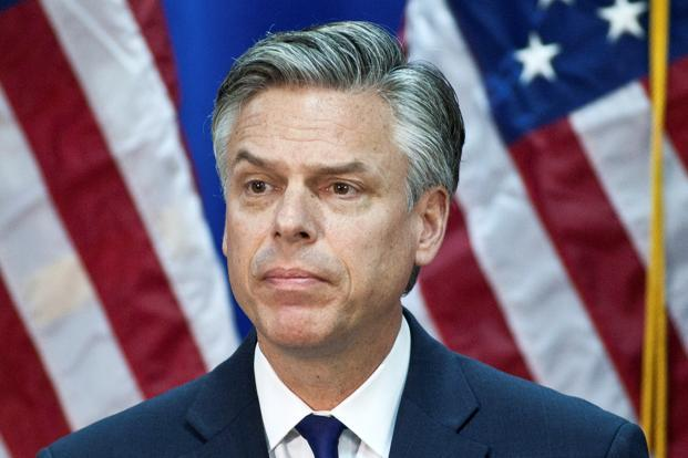 A file photo of former Utah governor and 2012 presidential candidate Jon Huntsman. Photo: Reuters