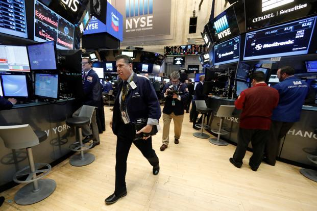 In the US itself, stocks have gained in anticipation of higher growth, while bonds have suffered because of expected tightening by the Fed. Photo: Reuters