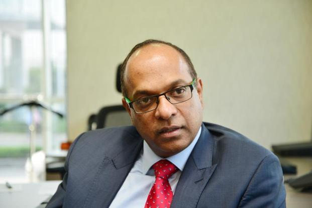 Venu Nair, MD of Marks & Spencer Reliance India. Photo: Ramesh Pathania/Mint