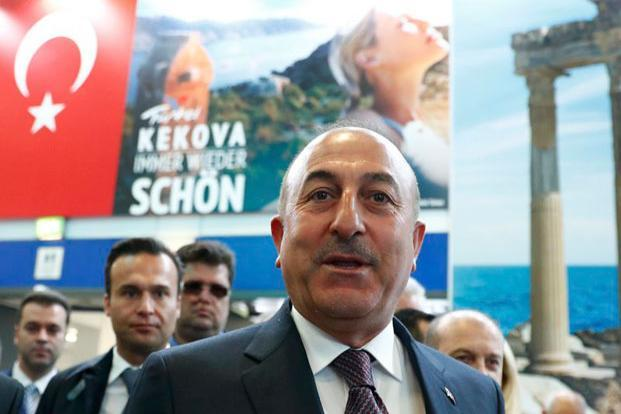 "Turkish foreign minister Mevlut Cavusoglu said on Saturday he would fly to Rotterdam anyway and accused the Dutch of treating Turkish citizens in the country like ""hostages"". Photo: Reuters"