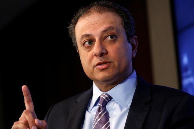 US attorney for the Southern District of New York Preet Bharara. Photo: Reuters