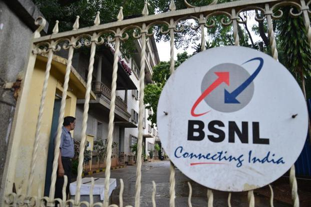 The BSNL plans to use part of its 3G spectrum for 4G services. Photo: Hemant Mishra/Mint