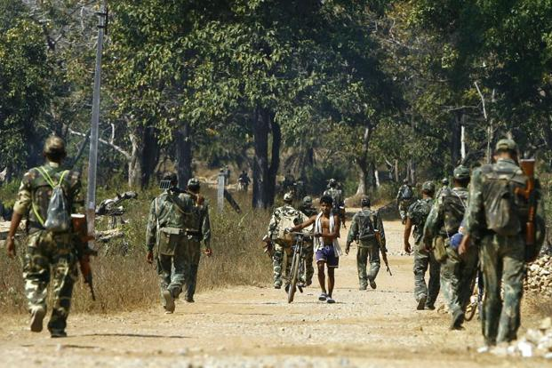 Maoists attacked CRPF in Sukma district of Chhattishgarh. Photo: AFP (file image)