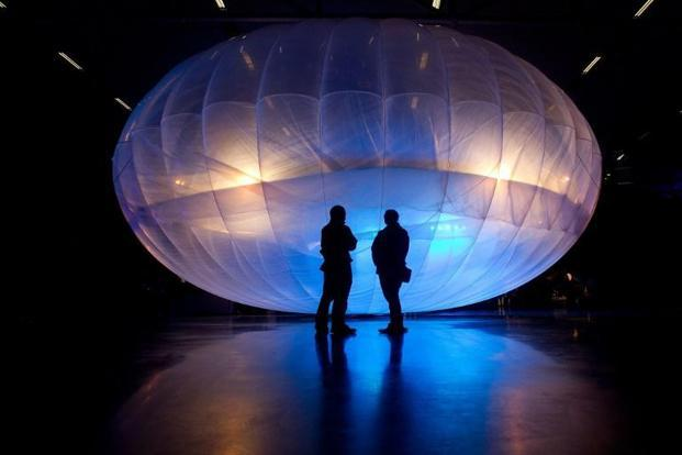 Project Loon is a research and development project being developed by X, the research division of Google parent Alphabet Inc., with the mission of providing Internet access to rural and remote areas. Photo: AFP