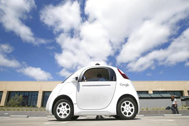 California has licensed 27 companies to test driverless vehicles on public roads. Photo: AP