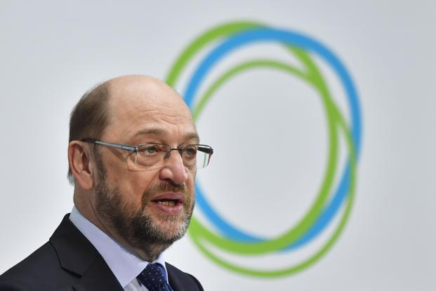 Martin Schulz, the Social Democrat candidate for the German chancellorship. Photo: AFP