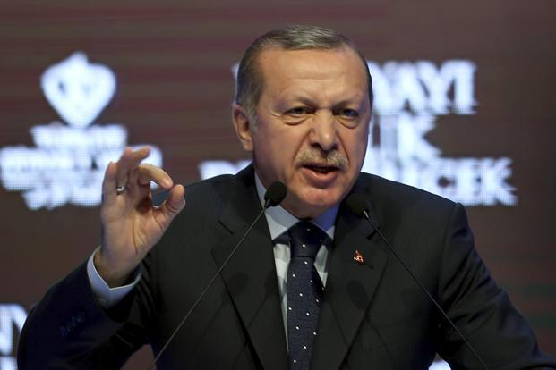 Turkish President Recep Tayyip Erdogan has a history of lashing out against allies, sometimes turning them into bitter enemies before later making up. Photo: AP