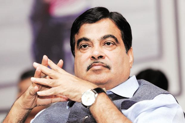 Nitin Gadkari, minister for road transport and highways, shipping and ports. Photo: Hindustan Times