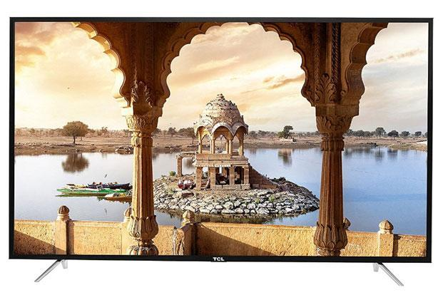 TCL L65P1US 4K LED TV is one of the most affordable TVs which offers screen resolution of 3,840x2,160p.