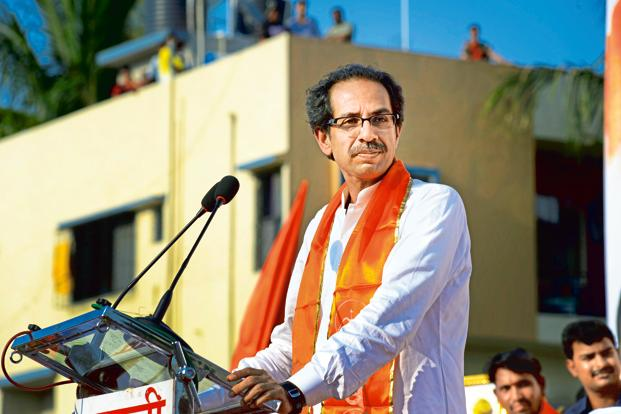 Shiv Sena chief Uddhav Thackeray. The party seems to have revised its strategy after the BJP's UP victory. File photo: Mint