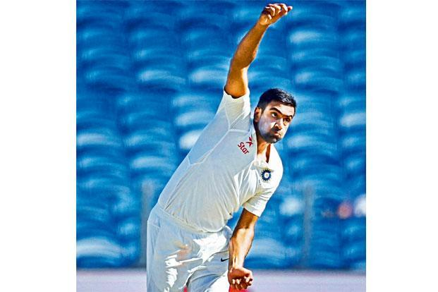 R Ashwin took eight wickets in the second, Bengaluru Test that helped India beat Australia. Photo: PTI