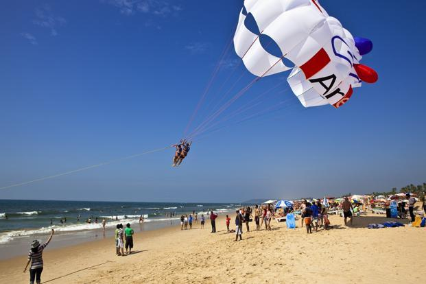 A file photo of Goa beach. Photo: AFP